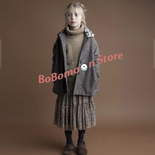 Pre-sale BoBomoon 2019 NEW Autumn Kids Christmas Sweater Christmas Baby Clothes Fashion Pullover Kids Sweaters Girls Top Sweater(China)