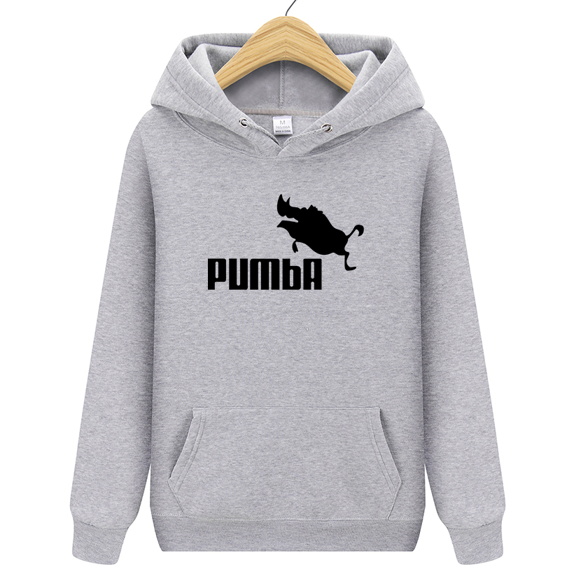 2020 Autumn New Arrival Pumba Black Hooded Sweatshirt With Hoodies Men Brand In Mens Hoodies And Sweatshirts Male Hooded