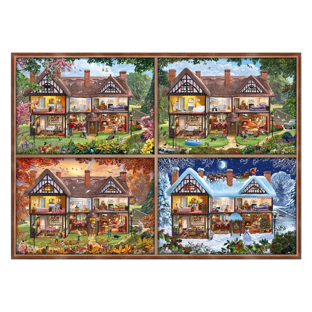 Toys & Hobbies Games and Puzzles Puzzles SCHMIDT 396424 паззл vintage puzzles
