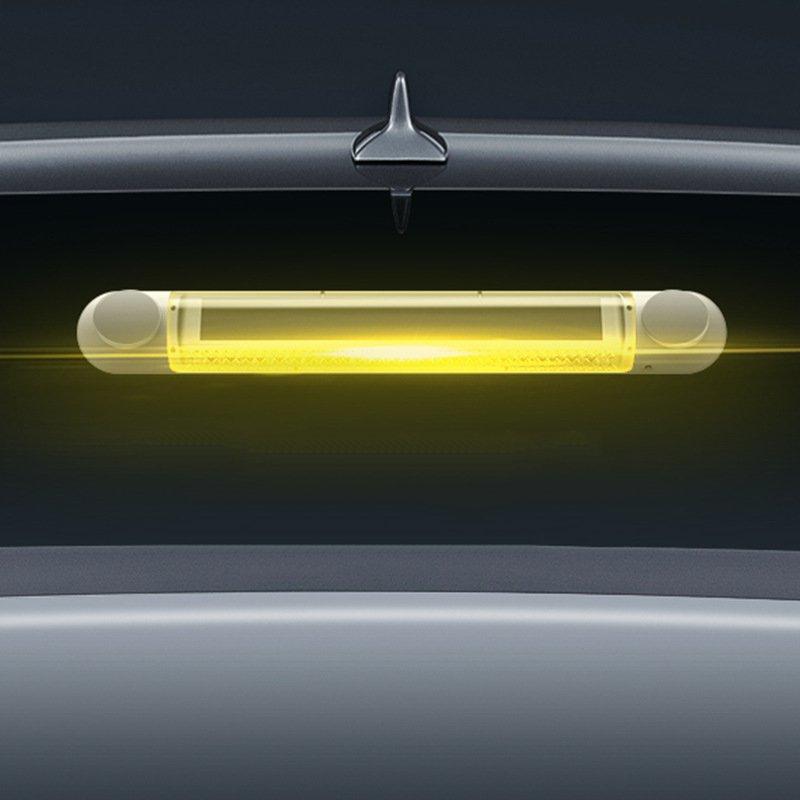 Solar Energy Brake Light 24 LED Car High Brake Traffic Security Warning Flashing Rear End Collision Proof ABS Solar Energy Light