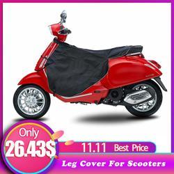 Capa de perna universal para scooters chuva vento frio protetor na altura do joelho da motocicleta cobertor joelho mais quente capa perna à prova dwaterproof água inverno colcha