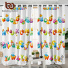 BeddingOutlet Alphabet Blackout Curtains Letters Living Room Curtains for Teens Kids Cartoon Animal Bedroom Curtains cortinas 1