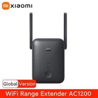 Xiaomi-repetidor Wifi de 5GHz, extensor de rango Wifi, AC1200, 1200Mbps, amplificador de señal Wifi, enrutador inalámbrico que funciona con la aplicación Mi Home