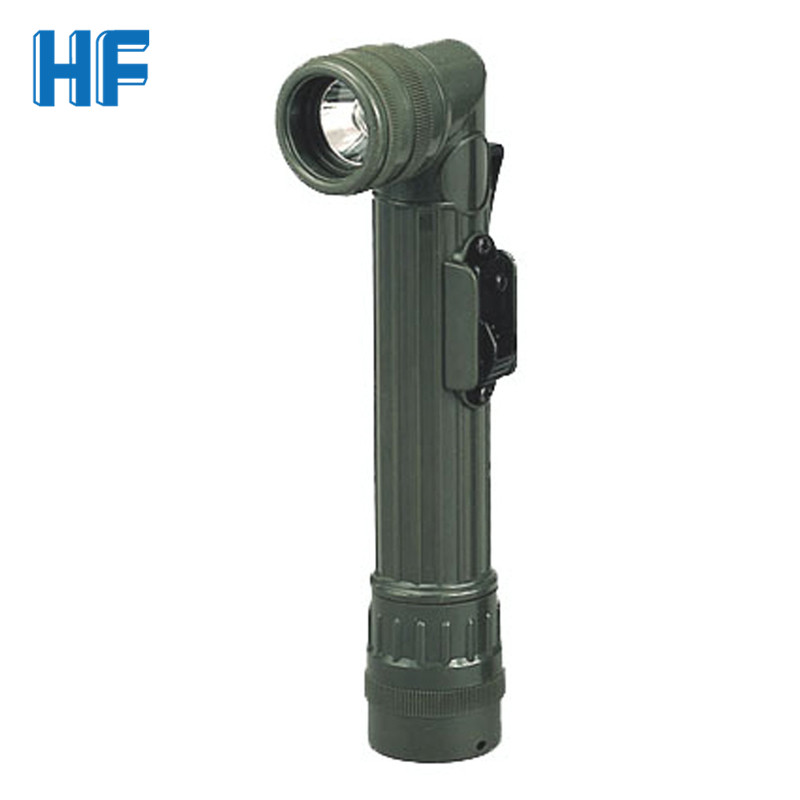 Portable LED Torch Flashlight  Red Green Blue LED Lantern Flash Light AA Battery Fishing Working Camping Hunting Flashlight