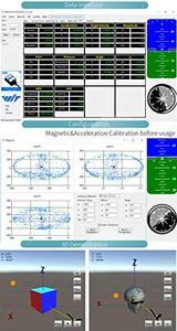 Image 3 - WitMotion Bluetooth 2.0 Mult podłącz BWT901CL 9 osi IMU czujnik kąt pochyłomierza + przyspieszenie + Gyro + Mag na PC/Android/MCU