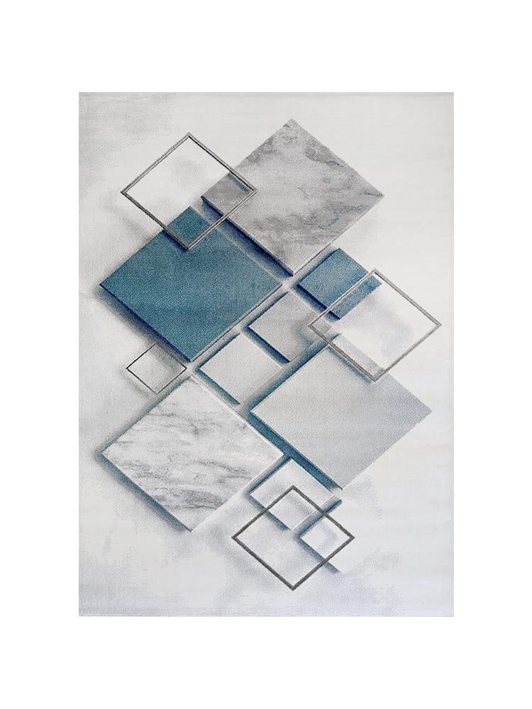 Tapis nordique ins Simple moderne américain lumière luxe salon canapé Table à thé chambre chevet tapis lavable en Machine