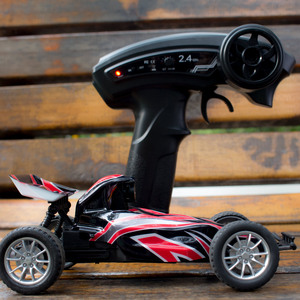 Image 4 - Emax Interceptor FPV Racing Car 2.4G Radio Control High speed With Camera Goggle Glasses RC Car 2~3S RTG Version for Gift