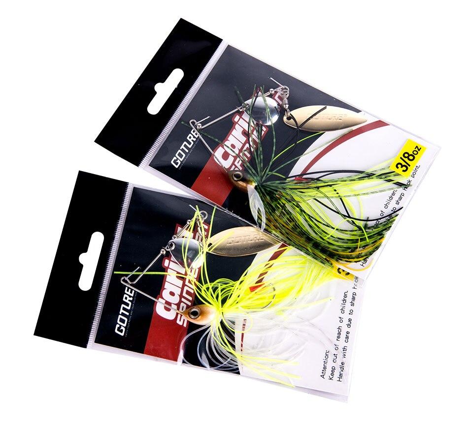 spinnerbait bait 10g 15g artificial bait jigging lure (15)