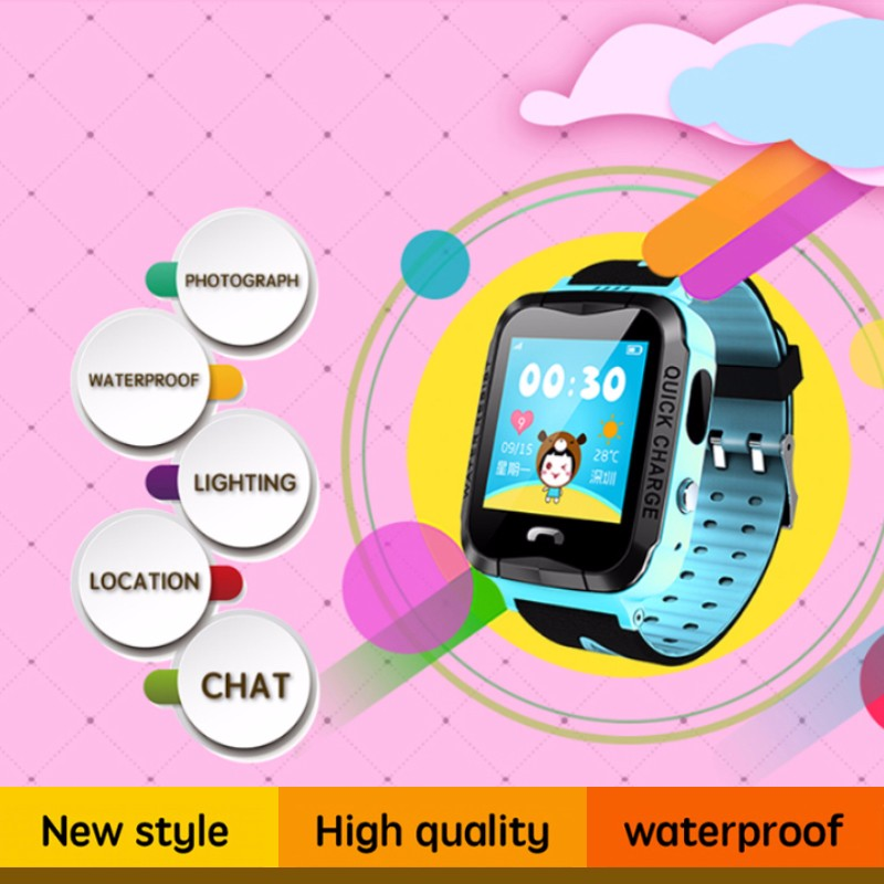 Hd2b0bd7c9e9444f99a58ef57e9b1a70d4 - GPS kids Smart Watch Phone Position Children Watch 1.22 inch Color Touch Screen WIFI SOS Tracker Smart Baby Watch IOS & Android