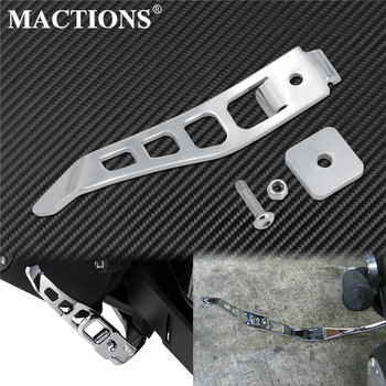 Motorcycle Stand Kickstand Extension Kit Chrome Foot Pedal For Harley Dyna Street Bob FXDB Fat Bob Low Rider Super Glide Custom motorcycle 1 1 4 engine guard crash bar for harley softail heritage fat bob low rider dyna wide glide super glide switchback