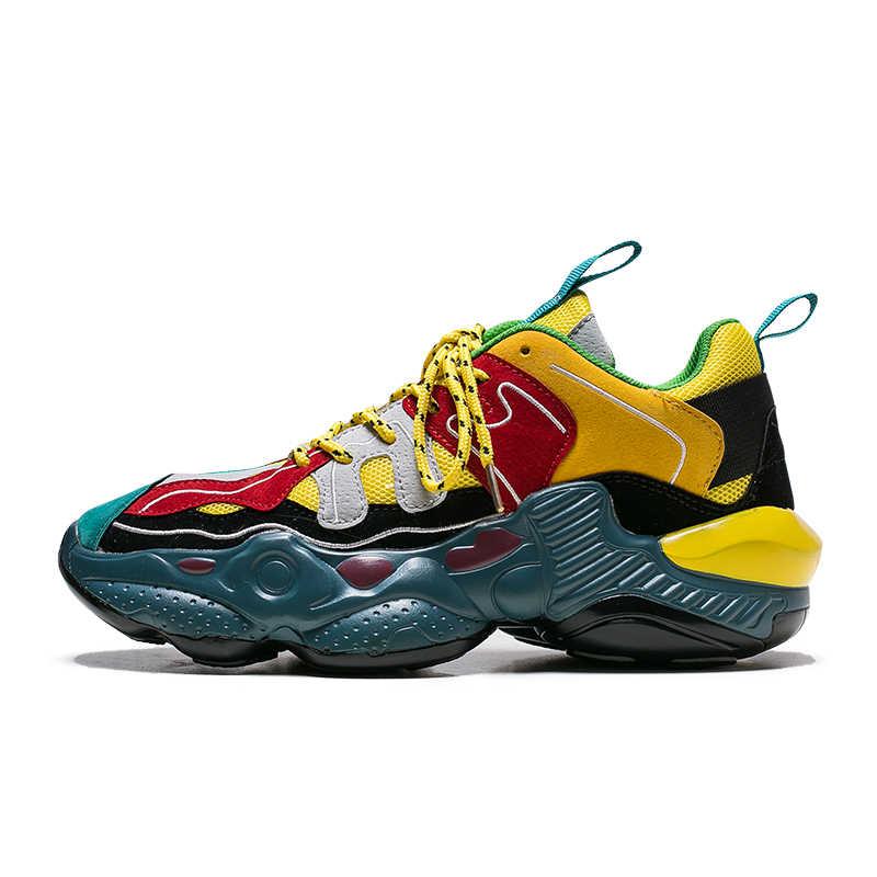 Times/Новая мужская повседневная обувь в римском стиле; модные кроссовки на толстой подошве; удобная дышащая мужская обувь для ходьбы; zapatos hombre Trend