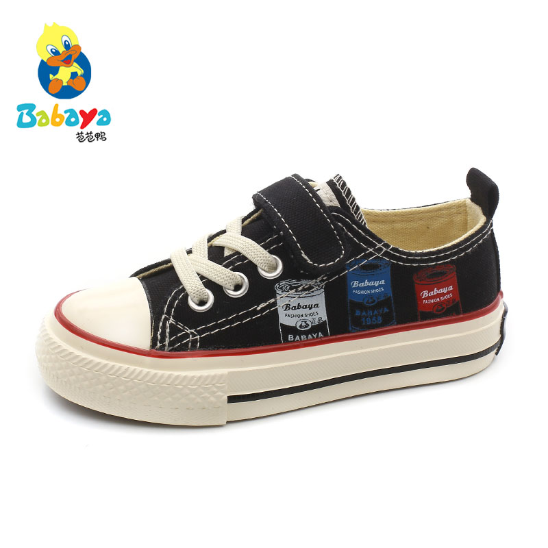 Babaya Children Canvas Shoes Boys Sneakers Girls Cloth Shoes Breathable Fashion 2020 Spring New Style Kids Casual Shoes
