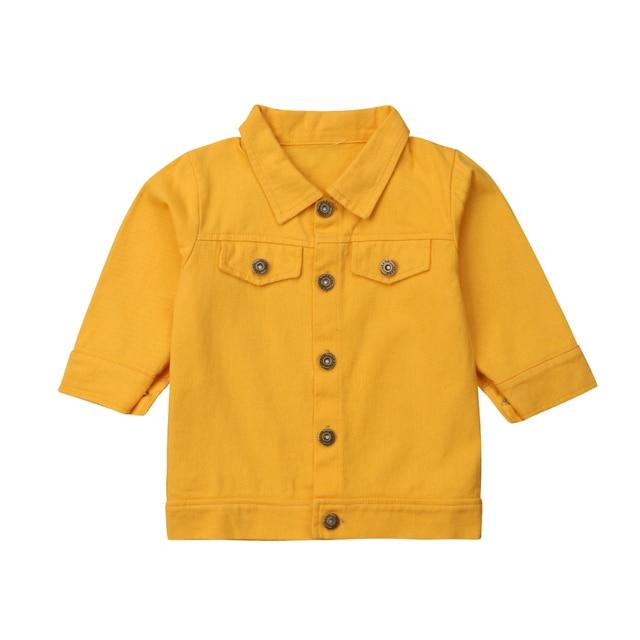 Kids Jean Coat Jacket...