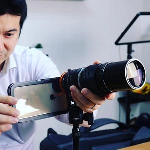 Image 4 - Ulanzi DOF Smartphone plein cadre caméra adaptateur dobjectif avec coque de téléphone EF monture objectif reflex DSLR caméra adaptateur dobjectif