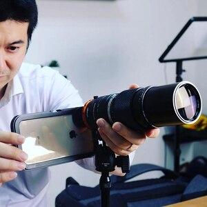 Image 4 - Ulanzi DOF الهاتف الذكي كامل الإطار كاميرا محول العدسة مع جراب هاتف EF جبل عدسة SLR DSLR كاميرا محول العدسة