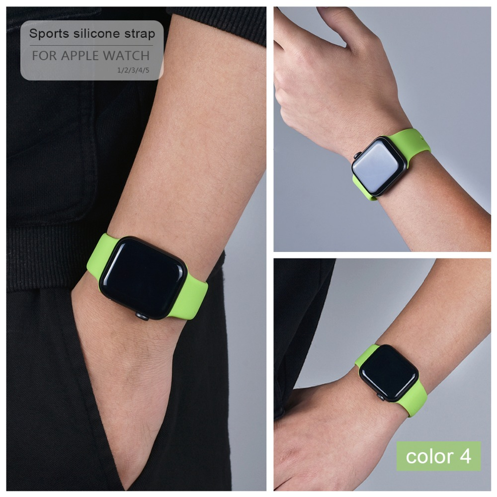 Colorful Silicone Band for Apple Watch 107