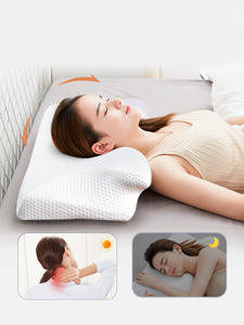 Set Pillow Stomach Orthopedic Purenlatex Sleepers Memory-Foam Cervical-14cm Contour And