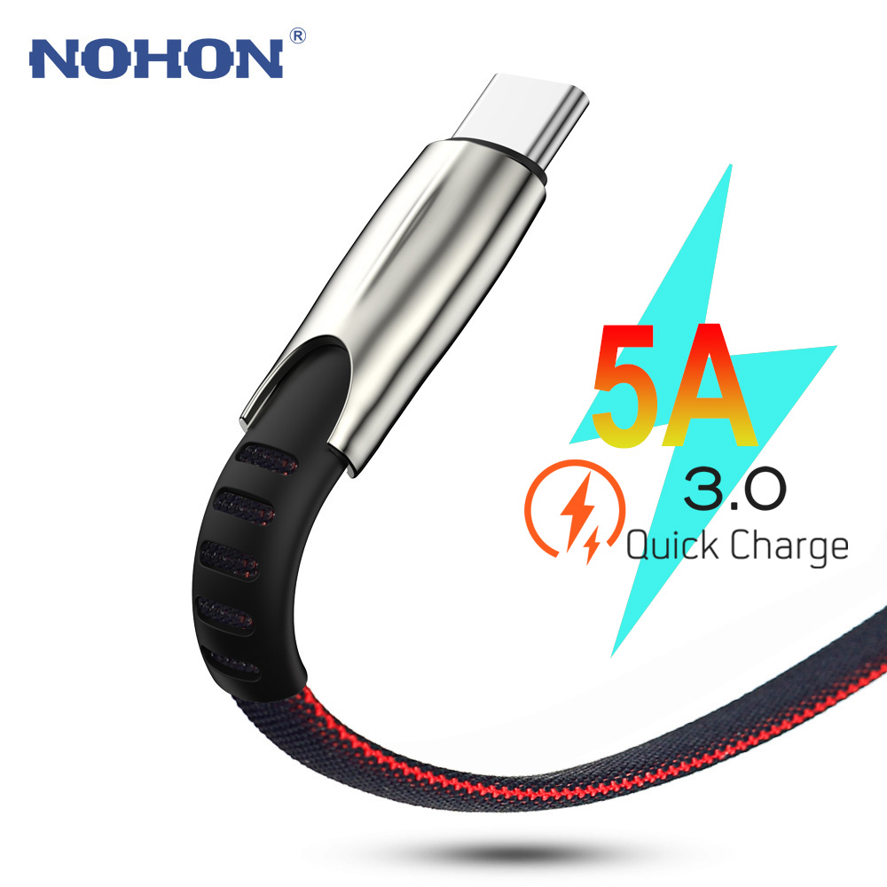 3M Data USB Type C Fast Charge Cable For Samsung S9 S10 Plus Xiaomi Mi 8 9 Redmi Note 7 k20 Huawei  USBC TypeC 5A Super Charger|Mobile Phone Cables|   - AliExpress