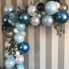 Polegada 50 10 pçs/set Pérola da Festa de Aniversário Balões Decoração Do Casamento Balão de Aniversário Feliz Ano Novo Colorido Baby Shower Globos