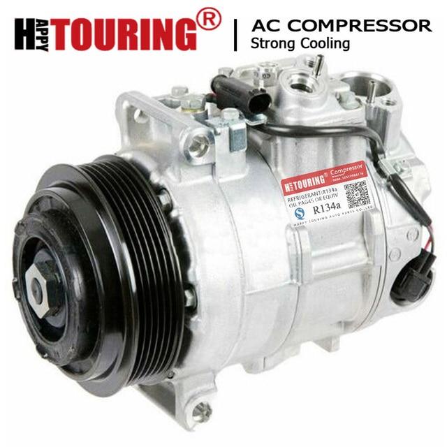 For 6SEU16C ac compressor Mercedes W204 S204 W212 S212 X204 A207 C207 A0012305011 0012305011 0022303111 A0022303811 A0022305111