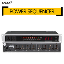 8/10 road professional power stage power supply timing sequence controller with a filter receptacle TR-620