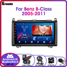 Android 10.0 Car Radio for Mercedes Benz B-Class B Class Viano Vito B200 2005-2016 Multimedia Video Player 2 Din RDS Stereo DVD