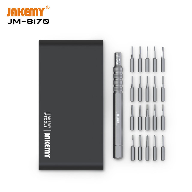 Multifunctional Opening Repair Tool Set Screwdriver Set 21 in 1 aluminum alloy handle screwdriver set  For Phones Tablet PC