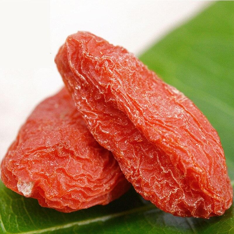 Arándano rojo orgánico chino (goji), comida súper saludable, protege los ojos y el hígado, fatiga de alivio, brillo corporal certificado USA/UE