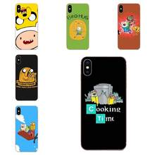 TPU For Xiaomi Mi3 Mi4 Mi4C Mi4i Mi5 Mi 5S 5X 6 6X 8 SE Pro Lite A1 Max Mix 2 Note 3 4 Adventure Time With Finn And Jake(China)