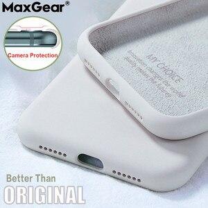 Original Liquid Silicone Case For SamSung Galaxy S8 S9 S10 S 20 Plus Note 10 A51 A71 A70 A50 A41 A21S S20 Ultra Soft Silky Cover