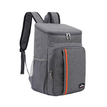 18L Large Capacity Leak Proof Lunch Backpack Thermal Large Picnic Cool and Warm Insulated Bag Outdoor Food Storage Shoulder Bag