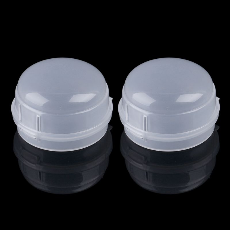 2pcs Gas Stove Oven Knob Cover Padlock Lid Lock Protector Baby Kitchen Safety Children Protection K1MA