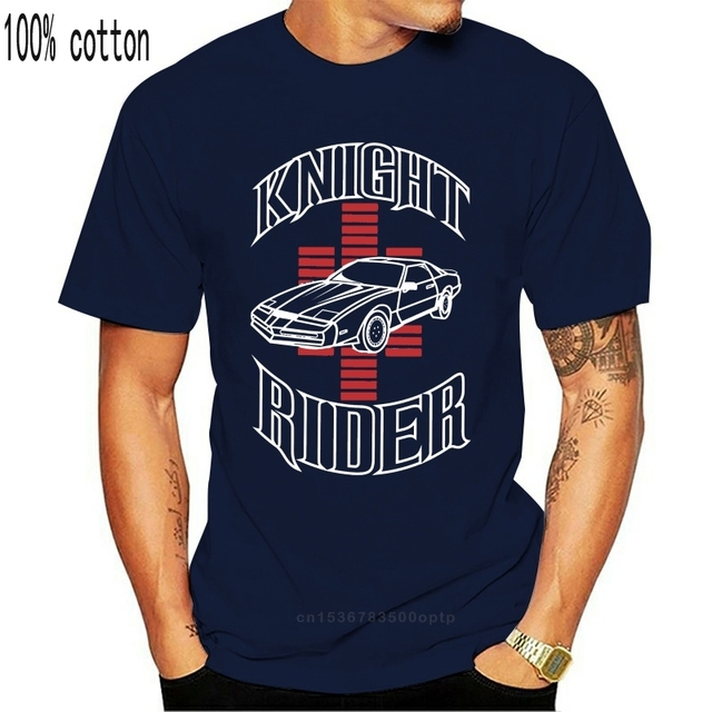 Knight Rider - KITT David Hasselhoff Retro 80s TV Series T-shirt NEW ARRIVAL tees causal summer t shirt cheap wholesale