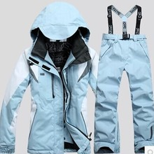 Snowboarding-Set Ski-Suit Spider Women's Pant New Trousers Scrawl-Style And Female