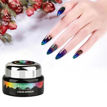 Thermochromic Liquid Crystal Mood Color changing UV LED Soak Off Pedicure Gel Nail Polish Permanent Varnish Lacquer
