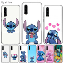 Uyellow Silicone Soft Phone Case For Huawei P10 P20 P30 Lite Pro Hawei Mate 10 20 lite P Smart Plus 2019 Disneys Stitches