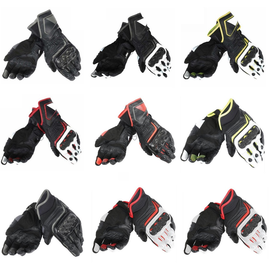 Motorcycle-Gloves Dain CARBON 2-Models Cowhide Druid 100%Genuine-Leather Original Driving title=