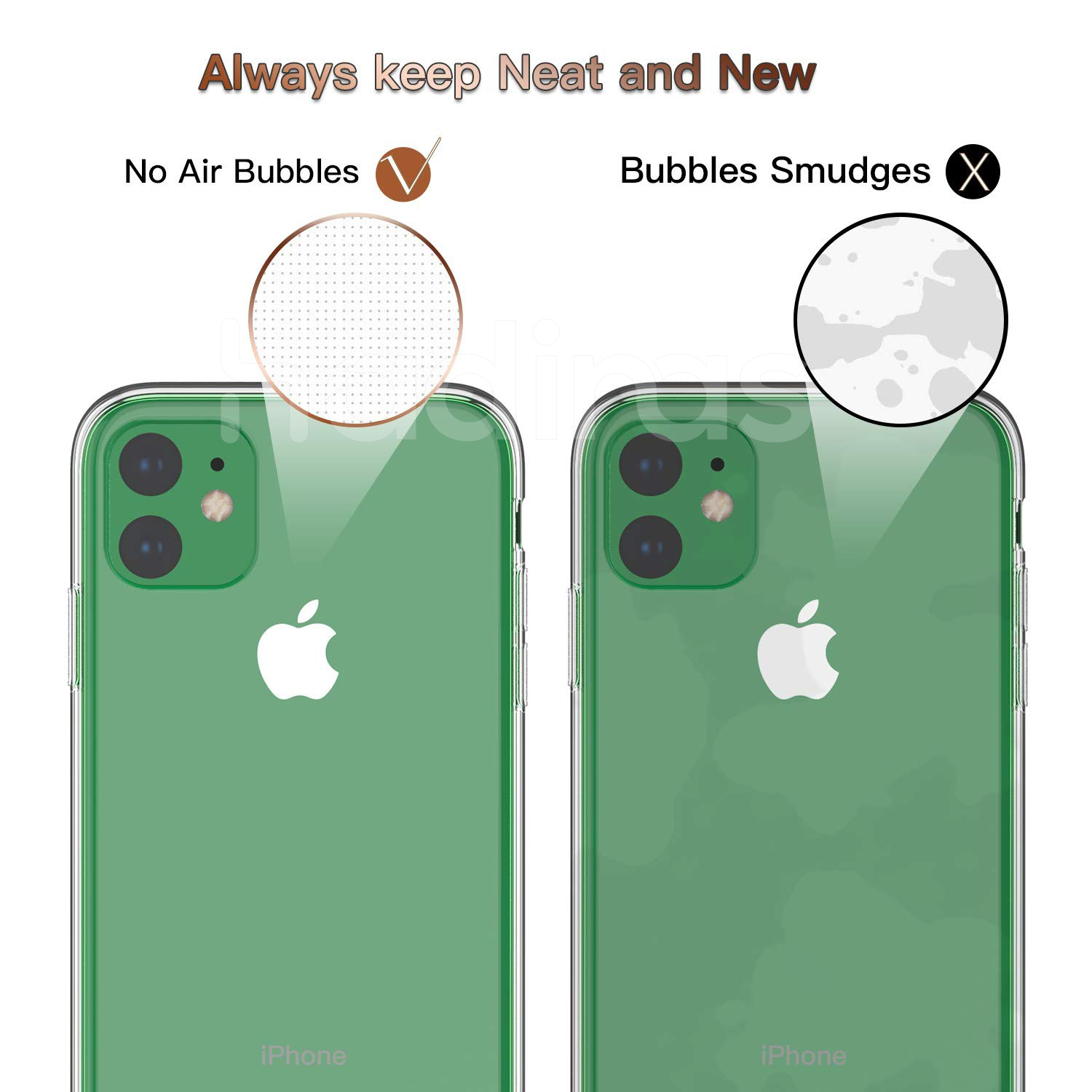 Hadinas Silicone Case for iPhone 11/11 Pro/11 Pro Max 17