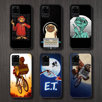 movie E.T. the Extra-Terrestrial Phone Case Cover Hull For Samsung Galaxy S 6 7 8 9 10 e 20 edge uitra Note 8 9 10 plus black image