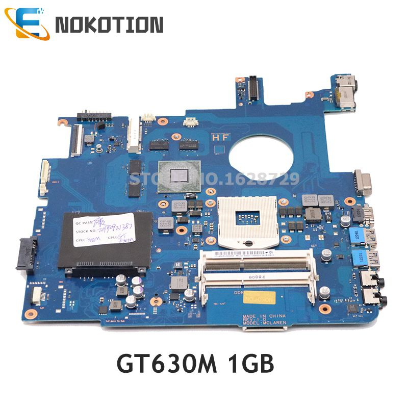 NOKOTION for Samsung NP550 NP550P5C Laptop motherboard HM76 DDR3 GT630M 1GB BA92-09962A BA92-09962B BA41-01900A BA41-01898 image
