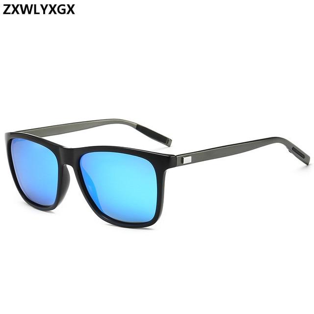 Unisex Retro Aluminum+TR90 Polarized Lens Sunglasses 6