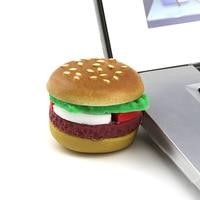 Koop Hamburger Usb Flash Drive 128 Gb Hoge Kwaliteit Cartoon Pendrive 256 Gb Memory Stick U Schijf Flash Geheugenkaart 512 Gb Pen Drive