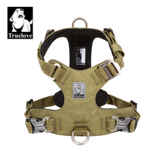 Harness Light-Weight Pet Military-Service Truelove Dog Tactical Small Adjustable Large
