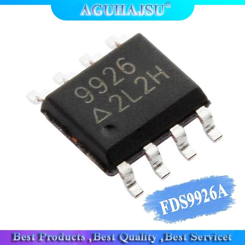 10pcs FDS9926A SOP8 FDS9926 SOP ME9926A CEM9926A AP9926 9926A 9926 SOP-8 SI9926
