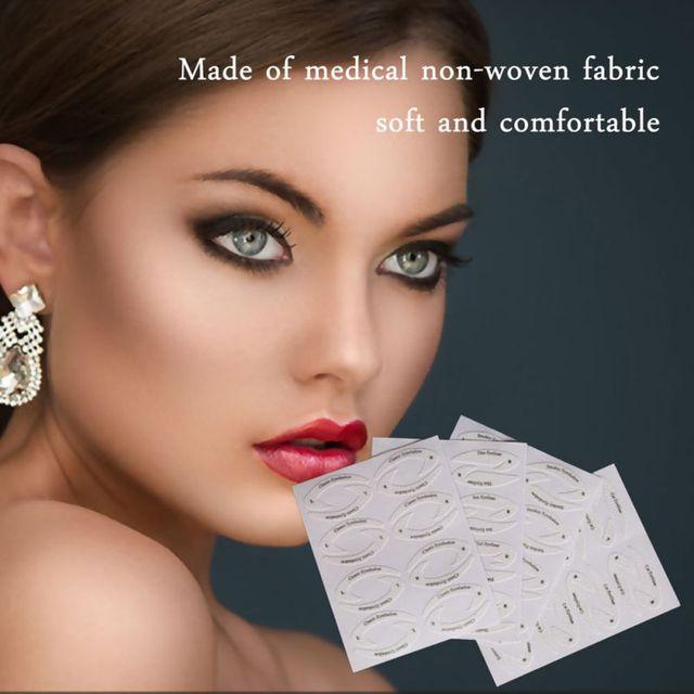 Professional Eye Makeup Fast Eyeliner Eye Shadow Makeup Drawing Liner Stencils Stickers Adhesive Tips Model Eye Makeup Tool 1