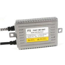 55W 70W Fast Bright Quick Start Original DLT F5 F7 HID Xenon Ballast For Car Light Accessories