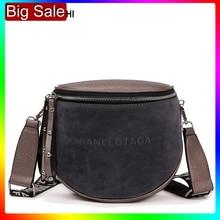 Kadınlar için Crossbody çanta 2020 Messemger çanta Pu deri omuz çantası moda ünlü marka bayan yarım daire eyer