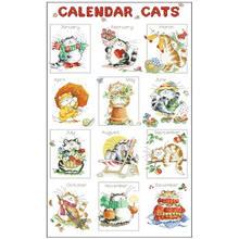 Наборы для вышивки «Кот» 11 18 карат