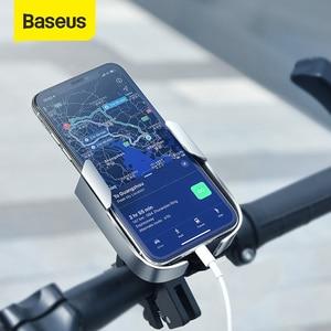 Image 1 - Baseus自転車電話ホルダーユニバーサル自転車オートバイハンドルスタンドマウント電動スクーターバックミラー電話スタンドホルダー