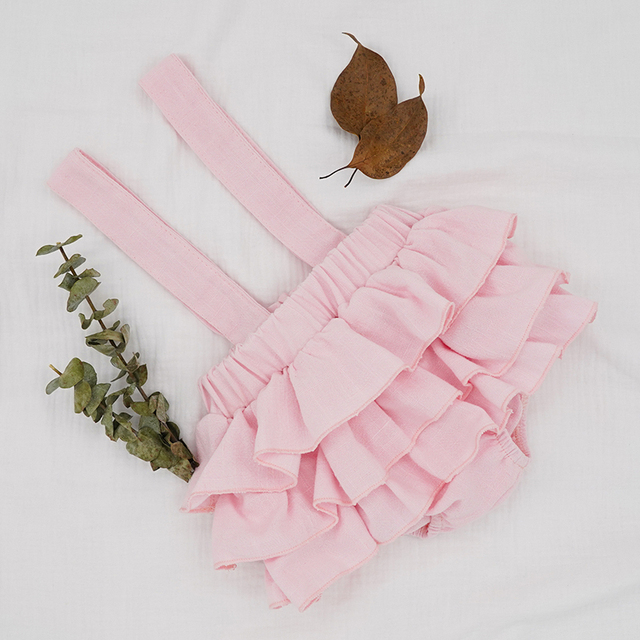 Baby Girl's Ruffle Skirt with Straps 6